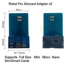 Mini Micro Nano Para Completa SIM Adaptador Convertidor De Sim / Micro Sim / Nano Sim