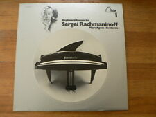 LP RECORD VINYL SERGEI RACHMANINOFF KEYBORD IMMORTAL PLAYS AGAIN IN STEREO
