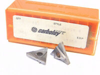 NEW SURPLUS 10PCS.  CARBOLOY  TNMA 43NGR4  GRADE: 883  CARBIDE INSERTS