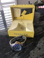 Invicta mens watch with original box and Extra Link
