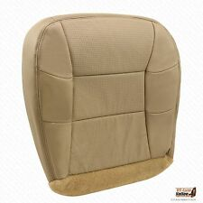 2001 Lincoln Navigator Driver Side Bottom Replacement PERFORATED Seat Cover Tan
