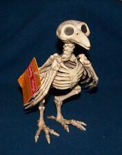 Crow Bird Skeleton Bones Halloween Haunted House Party Creepy Props