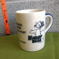 HUNGRY BEAR coffee mug French River Trading Post cup Canada Hwy 69