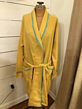 1960's Vintage - Robe by Weldon - Mustard - Permanent Press Wrap Robe - Medium