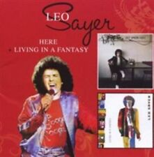 Here/living in a Fantasy 0740155206130 by LEO Sayer CD