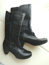 Merrell Womens Tall Boots Size 7.5 - 8 Black Heeled