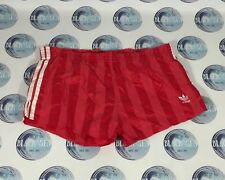 Vintage 1970'S 1980'S Football Soccer Shorts Red Adidas Made In West Germany