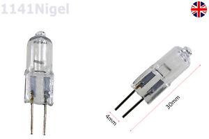 G4 35W 20W Watt 12VAC Halogen Tungsten 2pin Light Lamp Bulb JC Type Capsule -