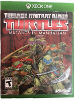 Teenage Mutant Ninja Turtles: Mutants in Manhattan Xbox One Game T Kids TMNT