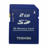 10* 2GB Toshiba SD 2GB Secure Digital Memory Card SD-M02G Standard 10 PIECES