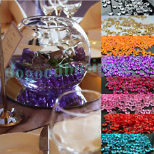 10mm Décoration de Mariage Table Scatter Cristaux Diamants Acrylique Confetti