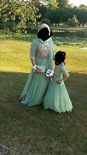 Custom designed bridesmaid dresses
