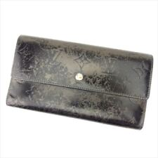 Louis Vuitton Wallet Purse Monogram mat Black Woman Authentic Used D1482