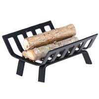 1/12 Muebles de casa de muñecas Rack de metal con leña para modelo de chimenea