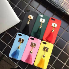 Fashion Luxury Cute Candy Tassels Charm soft case Cover for iPhone 7 6 6S Plus