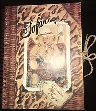 Smythe Safari Africa Reginald Oliver Traveling Bear Journal Book 1995 Steiff