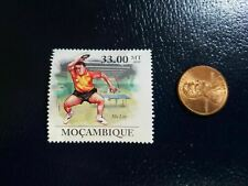New listing Ma Lin Table Tennis Ping Pong Olympics 2010 Mocambique Perforated Stamp (b)