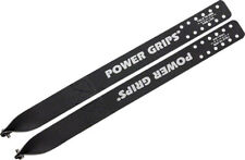 New Power Grips Fixie Straps (375mm) with Hardware Black