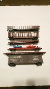 Roundhouse/Athearn etc HO Train Lot of 6 Southern Railway Rolling Stock Cars