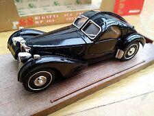 BRUMM R88 BUGATTI 57S ATLANTIC COUPE HP 165 diecast car black body 1934 1:43rd
