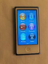 New listing Apple iPod nano 7th Generation Mid 2015 Blue (16Gb)