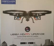 DBPower U818A HD+FPV Upgrade Quadcopter with HD WIFI Camera
