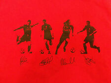 Liverpool F.C. Soccer Asia Tour 2011 Red Graphic T-Shirt - M
