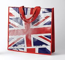 UNION JACK Design PVC Shopper Shopping Bag  NEW  17408