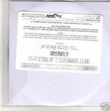 (M542) Matti Schwartz & Jo Mills Pres,You Gotta - DJ CD