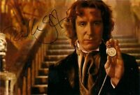 PAUL McGANN 8th DOCTOR WHO SIGNED AUTOGRAPH 6 x 4 inches PRE PRINTED PHOTO MOVIE