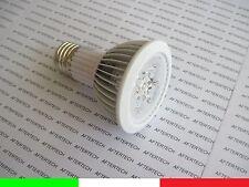 PAR20 E27 5w 30° LED 5x1W FARETTO LAMPADA SPOT BIANCO CALDO LUCE 220V 230v