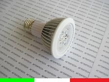 PAR20 E27 5w 30° LED 5x1W FARETTO LAMPADA SPOT BIANCO FREDDO LUCE 220V 230v