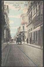 Brazil Postcard Sao Paulo Rua S Bento To Austria 1912