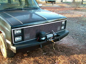 Custom Winch Bumper for Chevy GMC Trucks 1973-1987 Made to order