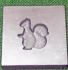 Graphite Glassblowing Lampwork 3D Squirrel Glass Mold