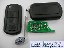 3 teclas Land Rover Discovery range sport control remoto plegable clave 433mh