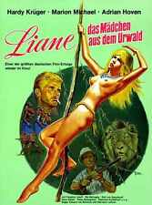 Liane Jungle Goddess Poster 03 Metal Sign A4 12x8 Aluminium