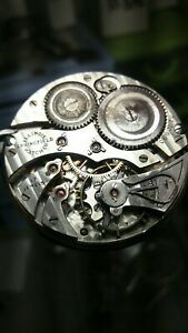 ILLINOIS Pocket Watch Movement Parts Double Roller