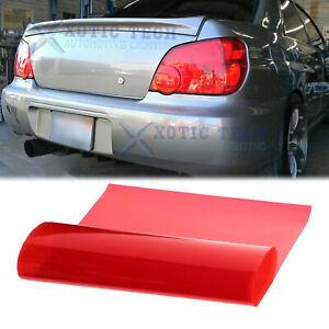 "12"" x 48"" Red Tint Vinyl Film Trim Wrap Cover Sticker For Nissan Altima Maxima"