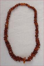 Natural Baltic Amber Honey Cognac Necklace 27gr