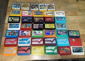 Famicom Game Lot NES USA Seller