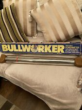 Vintage Bullworker With Box Built In Powermeter Red Ring Isometric-Isotonic