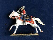 SOLDAT DE PLOMB  CAVALIER EMPIRE OFFICIER HUSSARD FRANCE 1807