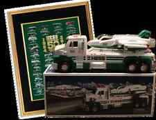 Hess 2014 Hess Truck & Space Cruiser with Scout &v50th Anniversary Poster NEW!