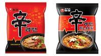 Korean Instant Hot Spicy Noodle NONGSHIM SHIN RAMYUN Series 2pack Set BLACK