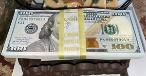 """1 EA From Strap Series 2017A $100 Bills NEW *Mint Condition* """"K"""" DALLAS DISTRICT"""