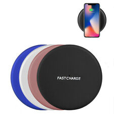 Qi Wireless Fast Charger Charging Stand Dock Pad Mat For iPhone Samsung Android