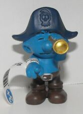 20765 Look-out Smurf Figurine from 2014 Pirate Set Plastic Miniature Figure