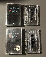 The Phantom of the Opera Audio Cassette Tapes (1987)