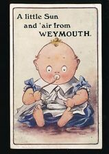 Dorset WEYMOUTH Baby Comic Used 1911 PPC